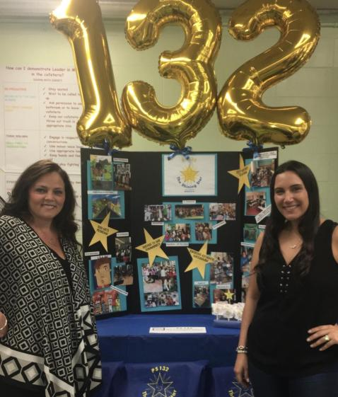 Assistant Principal Mrs. Mogielnick & Ms. Strocchia at SchoolFest 2017