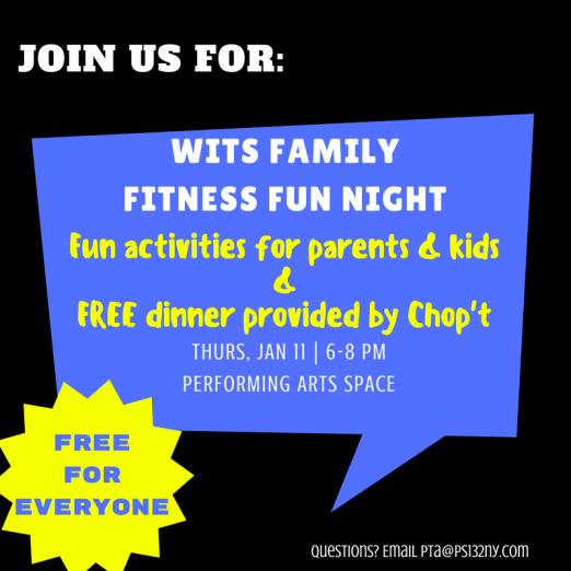 WITS Family fitness fun night