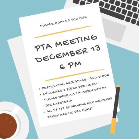 Dec PTA Meeting